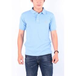 Áo thun nam cổ bẻ chuẩn phong cách Pigofashion PG01 - xanh biển