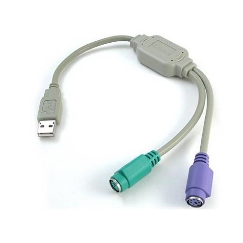 Cáp chuyển từ cổng USB ra PS2