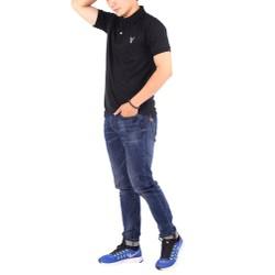 Áo thun nam cổ bẻ chuẩn phong cách Pigofashion PG01 - Đen