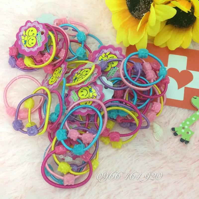 Set 50 dây cột tóc cho bé gái 3