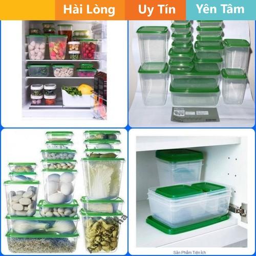 Bộ hộp nhựa đựng thức ăn 17 món trong tủ lạnh - 6423883 , 13047456 , 15_13047456 , 103000 , Bo-hop-nhua-dung-thuc-an-17-mon-trong-tu-lanh-15_13047456 , sendo.vn , Bộ hộp nhựa đựng thức ăn 17 món trong tủ lạnh