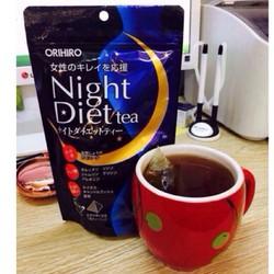 Trà Giảm Cân Ban đêm Night Diet Tea Nhật bản 20 túi 1 gói