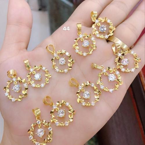 Mặt dây chuyền lá vàng 10k - 4353546 , 10561608 , 15_10561608 , 1340000 , Mat-day-chuyen-la-vang-10k-15_10561608 , sendo.vn , Mặt dây chuyền lá vàng 10k