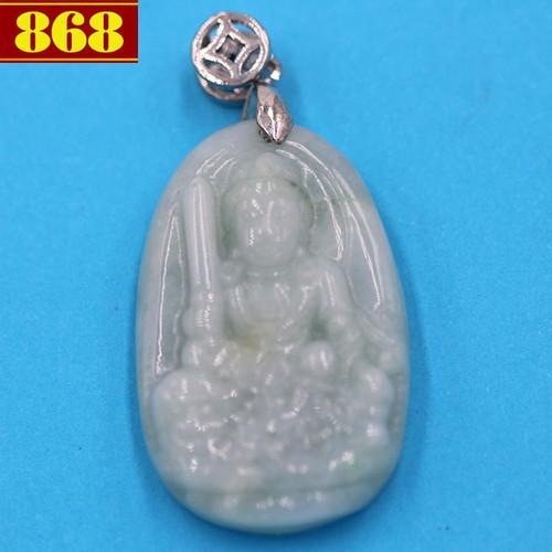 Mặt Văn Thù Sư Lợi Bồ Tát 3.6 đá ngọc bích