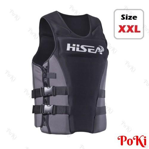 Áo phao bơi cứu hộ BLACK HISEA - Size XXL  - POKI - 10654182 , 10561751 , 15_10561751 , 739000 , Ao-phao-boi-cuu-ho-BLACK-HISEA-Size-XXL-POKI-15_10561751 , sendo.vn , Áo phao bơi cứu hộ BLACK HISEA - Size XXL  - POKI