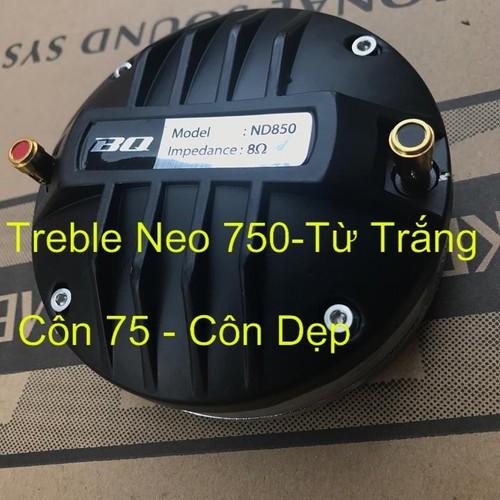 Treble 750 từ neo , coil dẹp 74.5
