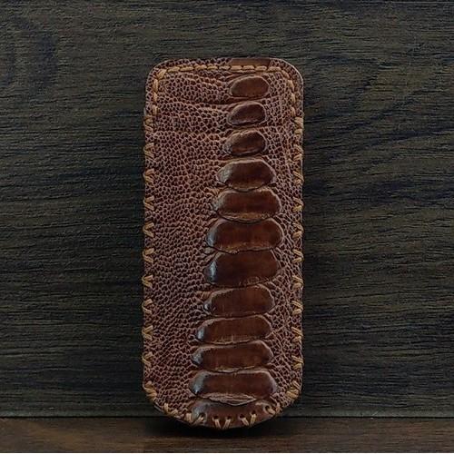 Bao Da Rút IoneCase Nokia 8800 Đà Điểu Có Gù Màu Nâu