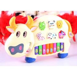 Đàn nhạc hình con bò cho bé