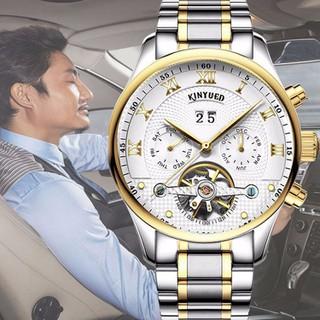 Đồng hồ cơ lộ máy KYNYUED - Đồng hồ cơ nam - Đồng hồ cơ nam KYD1 thumbnail