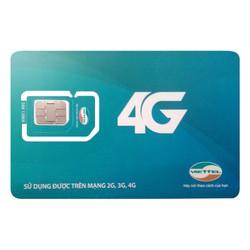 Sim Dcom 3G 4G Viettel đăng ký gói đa năng
