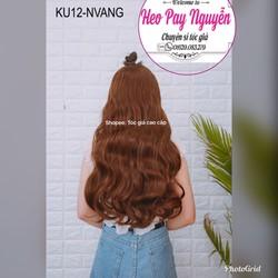 tóc kẹp u xoăn dợn dài 65cm