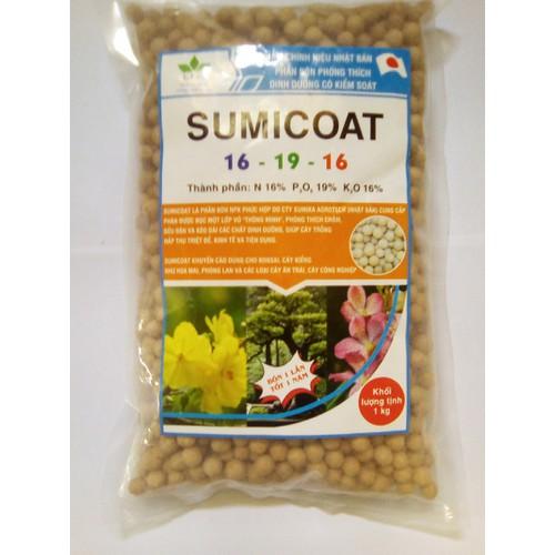 Phân bón thông minh - phân bón sumicoat bón một lần- tốt một năm ( gói 1 kg)