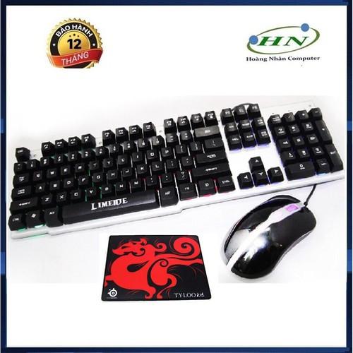[[Freeship]Bộ bàn phím giả cơ và chuột chuyên game gtx500 led 7 màu