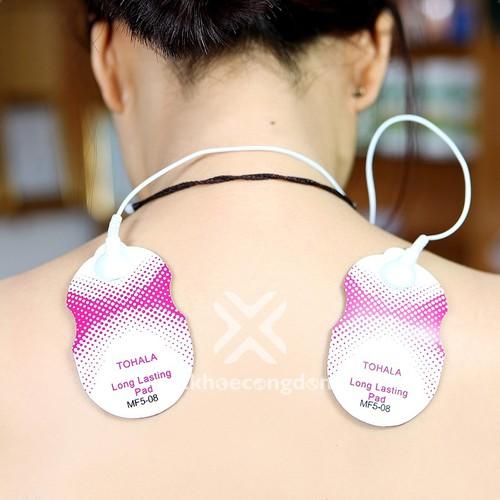 02 miếng dán massage điện xung - phụ kiện máy vật lý trị liệu - miếng dán massage xung điện - miếng dán máy massage xung điện - không bao gồm dây điện xung