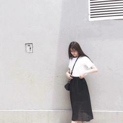 Chân Váy Skirt Chất Voan Nhẹ Nhàng