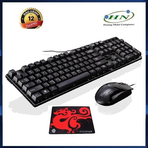 [[Freeship]Bàn phím và chuột q17 giả cơ game chuyên dụng