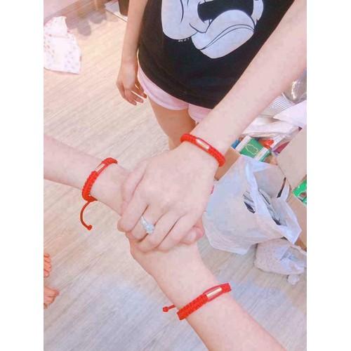 Vòng tay dây chỉ đỏ may mắn từ Thái Lan