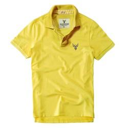 Áo thun nam cổ bẻ chuẩn phong cách Pigofashion PG01 - Vàng