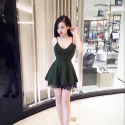 Đầm 2 dâu hotgirl gợi cảm kèm quần Siêu đẹp