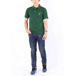 Áo thun nam cổ bẻ chuẩn phong cách Pigofashion PG01 - xanh rêu