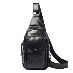 Túi Đeo Chéo ETONWEAG – Chất Liệu Da - Cao Cấp – Màu Đen – Mã DP704