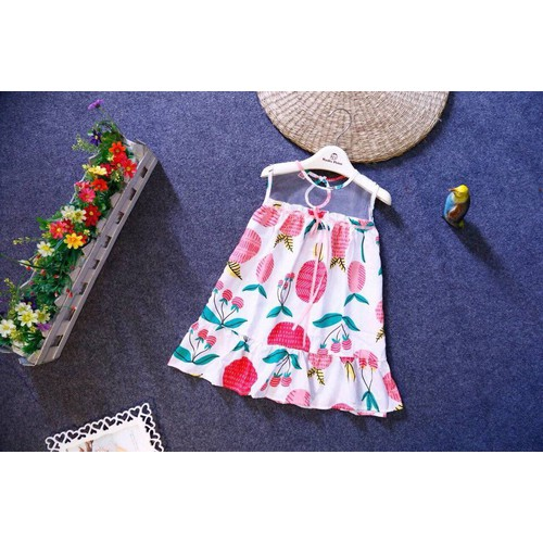Váy đầm bé gái tole lụa lanh lụa cao cấp đầm tôn cho bé gái size 2-4 sale sốc