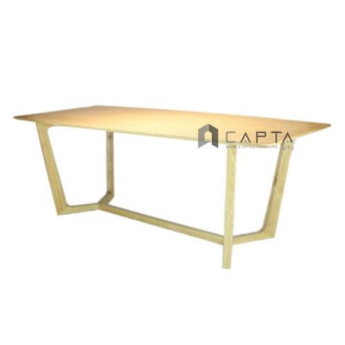 Concorde-16w  bàn ăn concorde 1m6 gỗ tự nhiên hiện đại tại hcm giá rẻ hàng thanh lý nội thất capta
