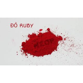 Màu Khoáng Đỏ Ruby Lì 1G - Màu Khoáng Mỹ - Nguyên Liệu Làm Son và Mỹ P - MKDR1 thumbnail