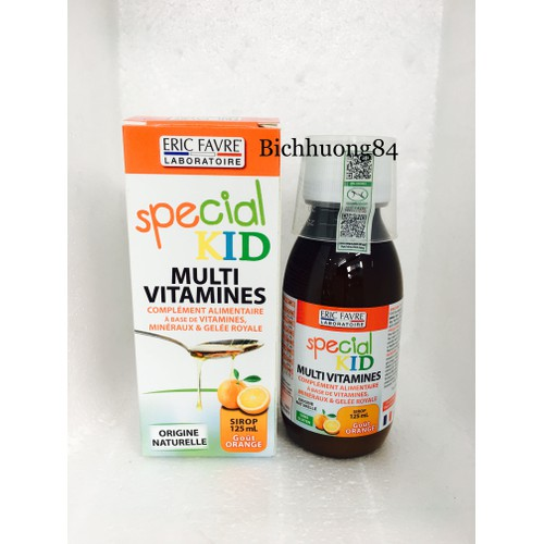 dung dịch bổ sung vitamin special kid multivitamines 125ml