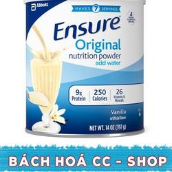 LỐC 6 LON SỮA ENSURE ORIGINAL NUTRITION POWDER HƯƠNG VANILLA 397G