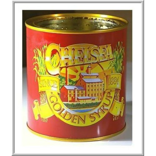 SIRO CHELSEA GOLDEN SYRUP IN TIN 1000g