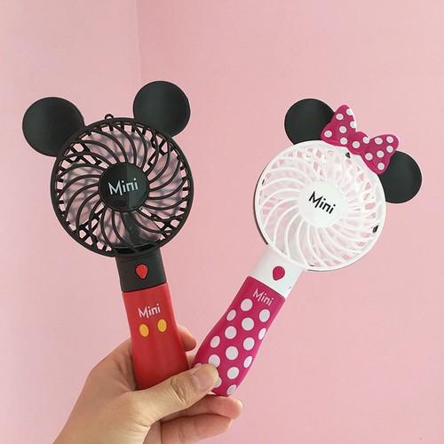 Quạt mini cầm tay chuột Micky - Mimi