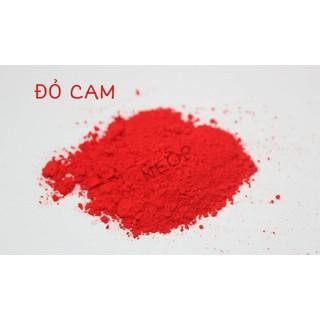 Màu Khoáng Đỏ Cam Lì 1G - Màu Khoáng Mỹ - Nguyên Liệu Làm Son và Mỹ Ph - MKDC1 thumbnail