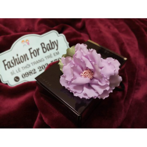 Bờm hoa HandMade cho bé