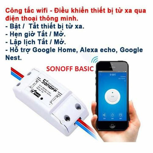 Công tắc thông minh SONOFF BASIC-SP Quốc Tế-Tiếng Anh, điều khiển từ xa qua WIFI, 3G, 4G - 4361850 , 10585157 , 15_10585157 , 94000 , Cong-tac-thong-minh-SONOFF-BASIC-SP-Quoc-Te-Tieng-Anh-dieu-khien-tu-xa-qua-WIFI-3G-4G-15_10585157 , sendo.vn , Công tắc thông minh SONOFF BASIC-SP Quốc Tế-Tiếng Anh, điều khiển từ xa qua WIFI, 3G, 4G
