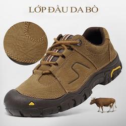 Order - Giày leo núi Camel da bò nguyên chất không thấm nước