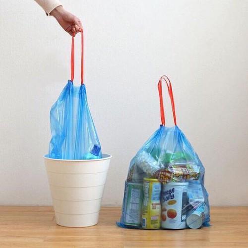 túi đựng rác có quai sách - giao màu, mẫu ngẫu nhiên