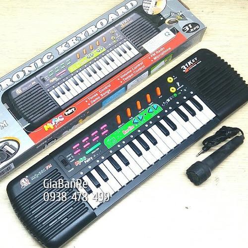 Đồ chơi đàn piano fm01 có đài radio fm - 31 phím có micro