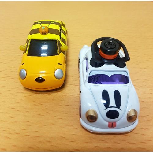 Combo 2 Xe Tomica Disney Happy Halloween Corotto Poppins Ma và Bí