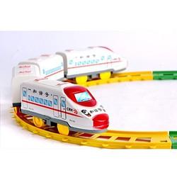 combo 2 Bộ đồ chơi tàu lửa cho bé, trò chơi cho bé
