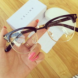 Mắt Kính Giả Cận Style + Tặng kèm túi đựng kính