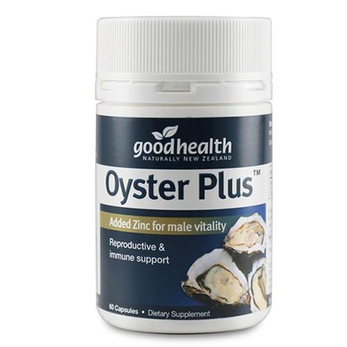 Mẫu mới - viên uống tinh chất hàu oyster plus của goodhealth 60 viên new zealand hỗ trợ tăng cường sinh lý nam giới