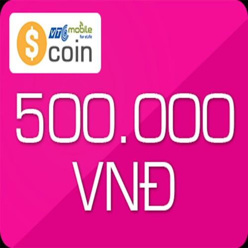 Thẻ Scoin 500k Tặng thêm 50k vào tài khoản game