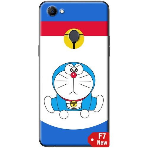 Ốp lưng nhựa dẻo Oppo F7 Doraemon thể thao