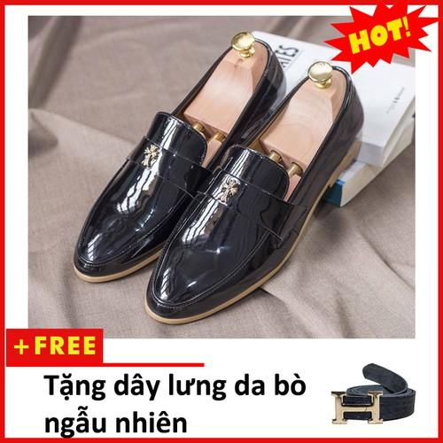 Giày lười nam - Giày lười nam thập bóng M95-TL
