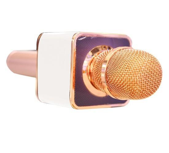 Micro karaoke Không dây Bluetooth gắn thẻ nhớ USB PKCB-08 Auth 4