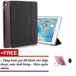 Bao da smart cover dành cho Ipad 2017 Tặng kèm giá đỡ máy tính bảng