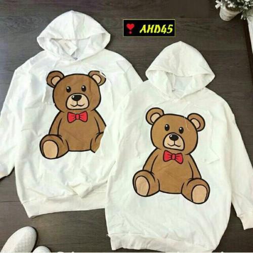 Áo hoodie nam nữ gấu bông
