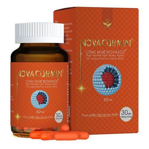 Novacurmin - hỗ trợ bảo vệ gan - dạ dày - tá tràng - 30 viên