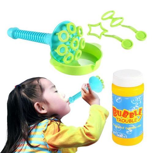 Bộ thổi bong bóng cikoo an toàn